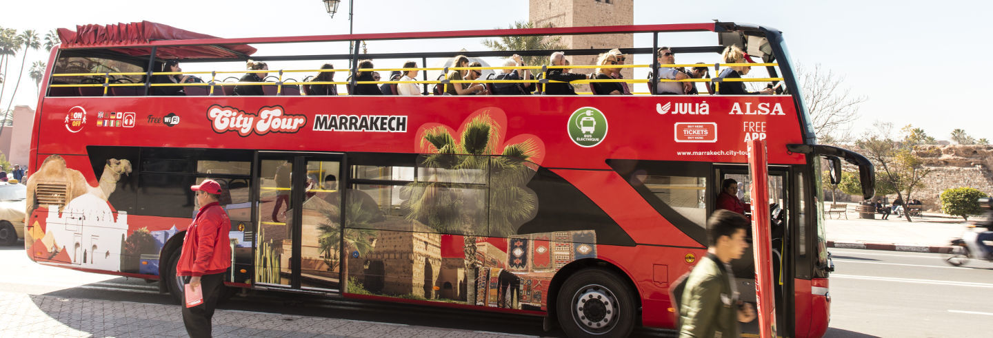 Marrakech Hop-On Hop-Off Bus Tour