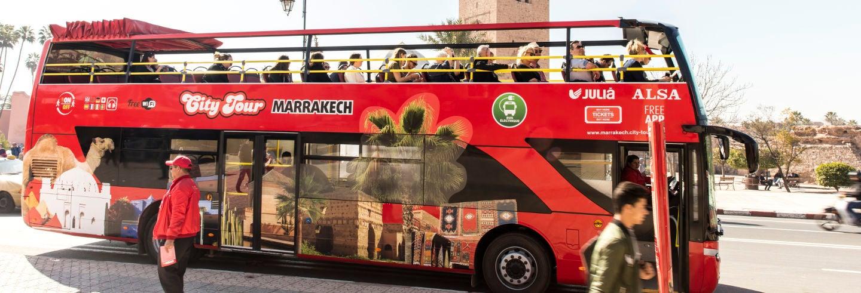 Bus touristique de Marrakech