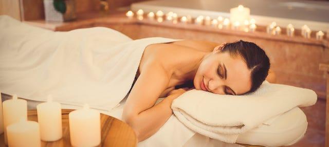 Banho e massagem em hammam spa tradicional