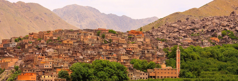 Excursion à la Vallée d'Imlil et au Plateau du Kik