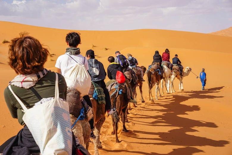 ,3 días,Excursión a desierto Merzouga