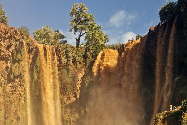 ,Visita las cascadas,Cascadas de Ouzoud