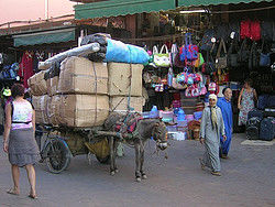 Compras en aeropuerto de marrakech