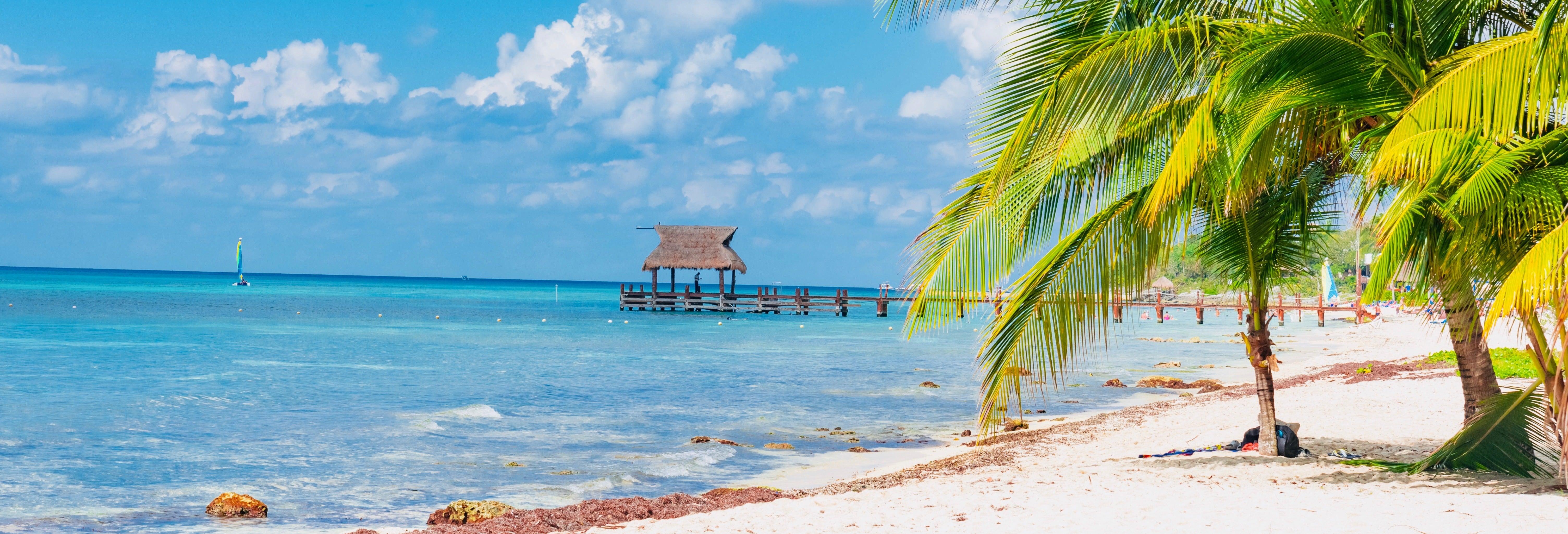 Excursão a Cozumel de barco