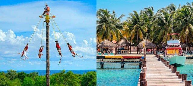 Oferta: Xcaret + Catamarán a Isla Mujeres en dos días