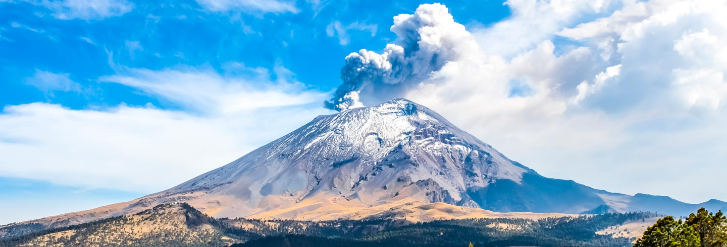 Excursion to the Popocatépetl and Iztaccíhuatl Volcanoes