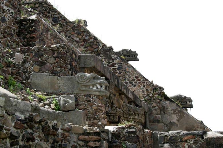 Excursion à Teotihuacan au coucher de soleil