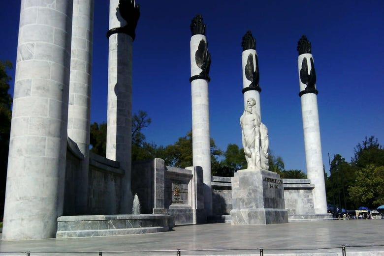 Free tour dans la forêt de Chapultepec. C'est gratuit !