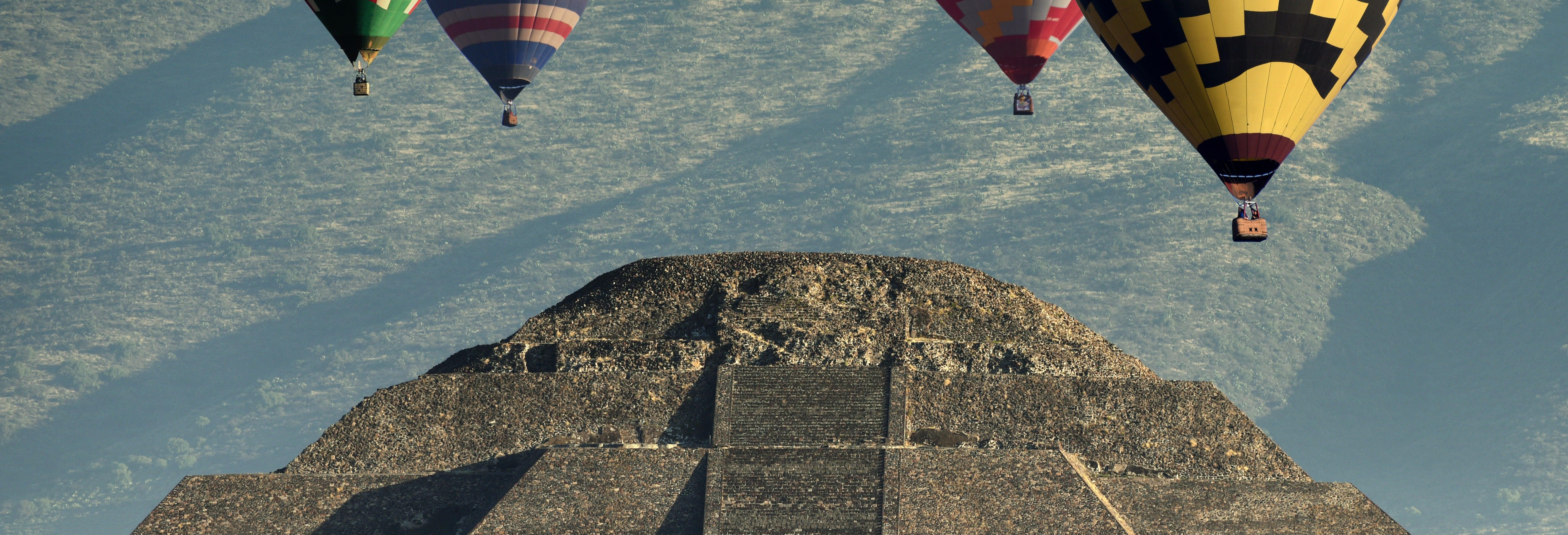 Teotihuacán Hot Air Balloon Ride
