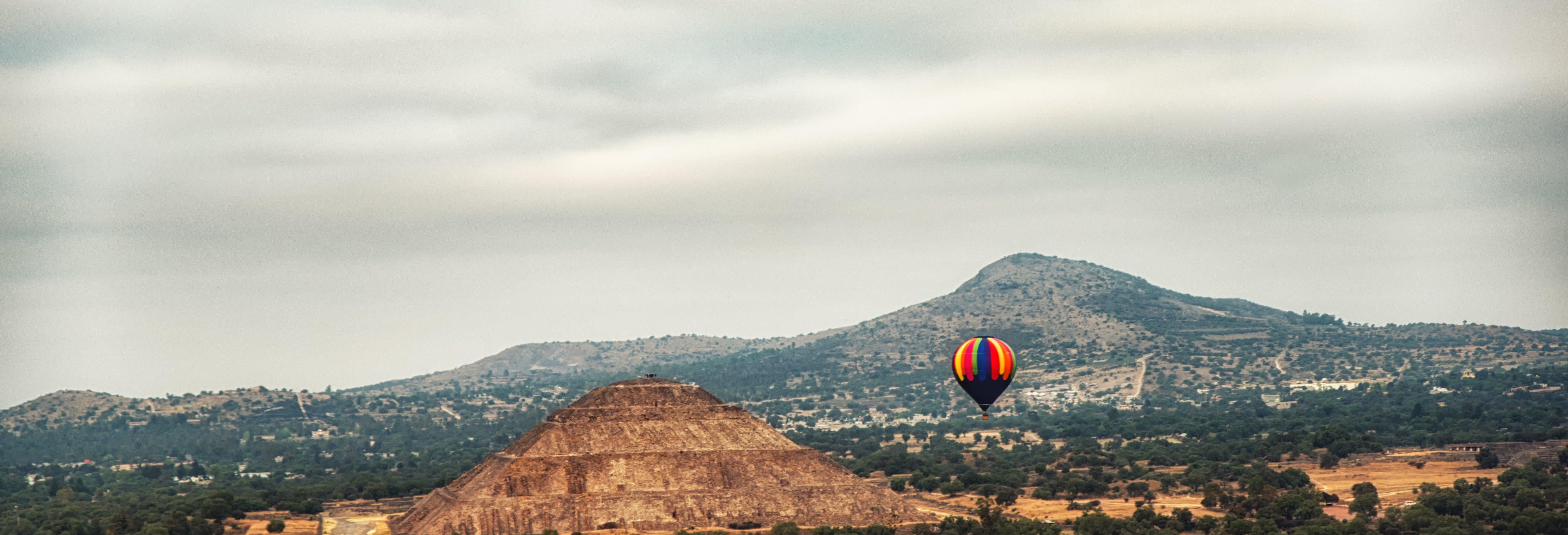Teotihuacán Private Hot Air Balloon Flight