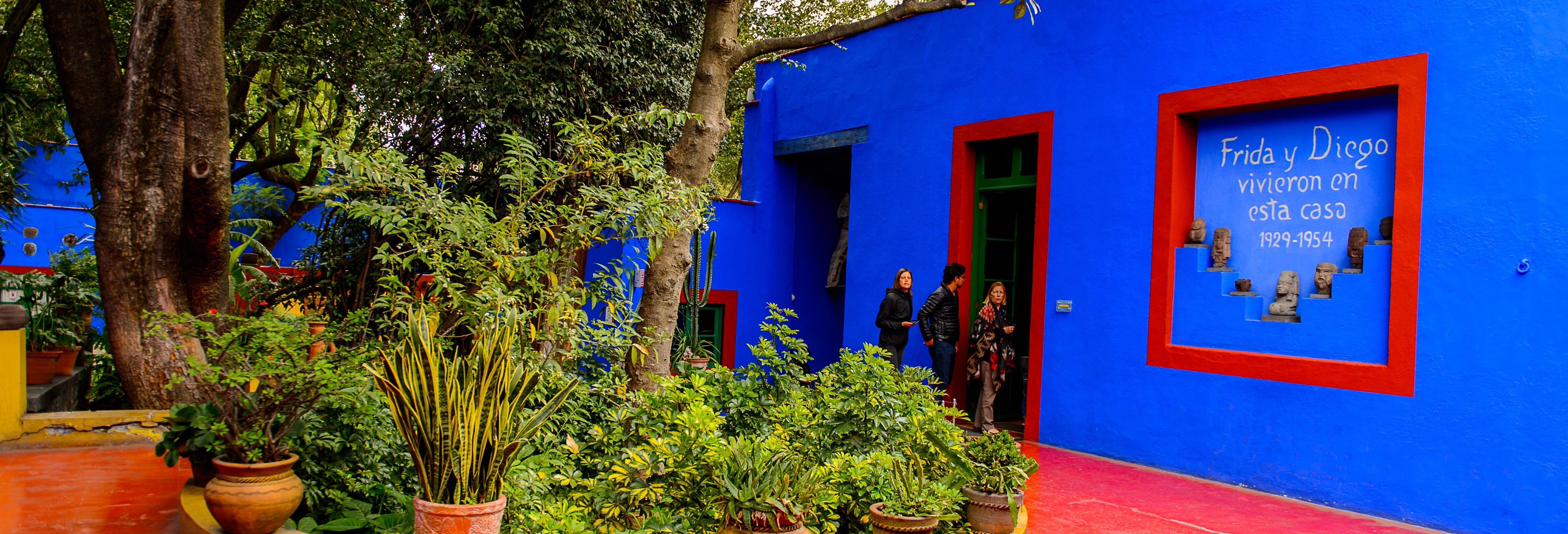 Tour de Frida Kahlo por el barrio de Coyoacán