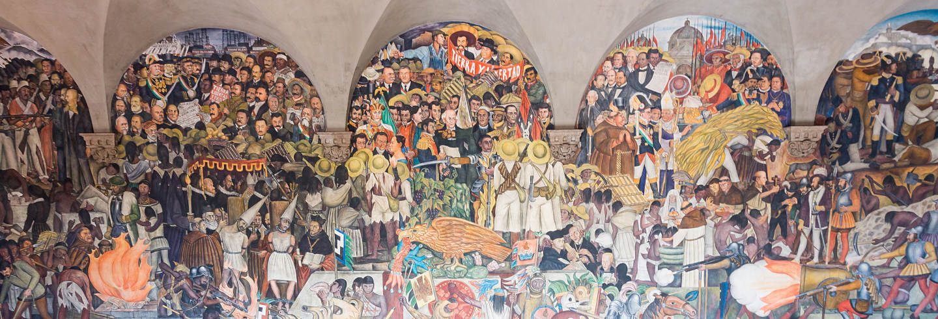 Tour de los murales de Ciudad de México