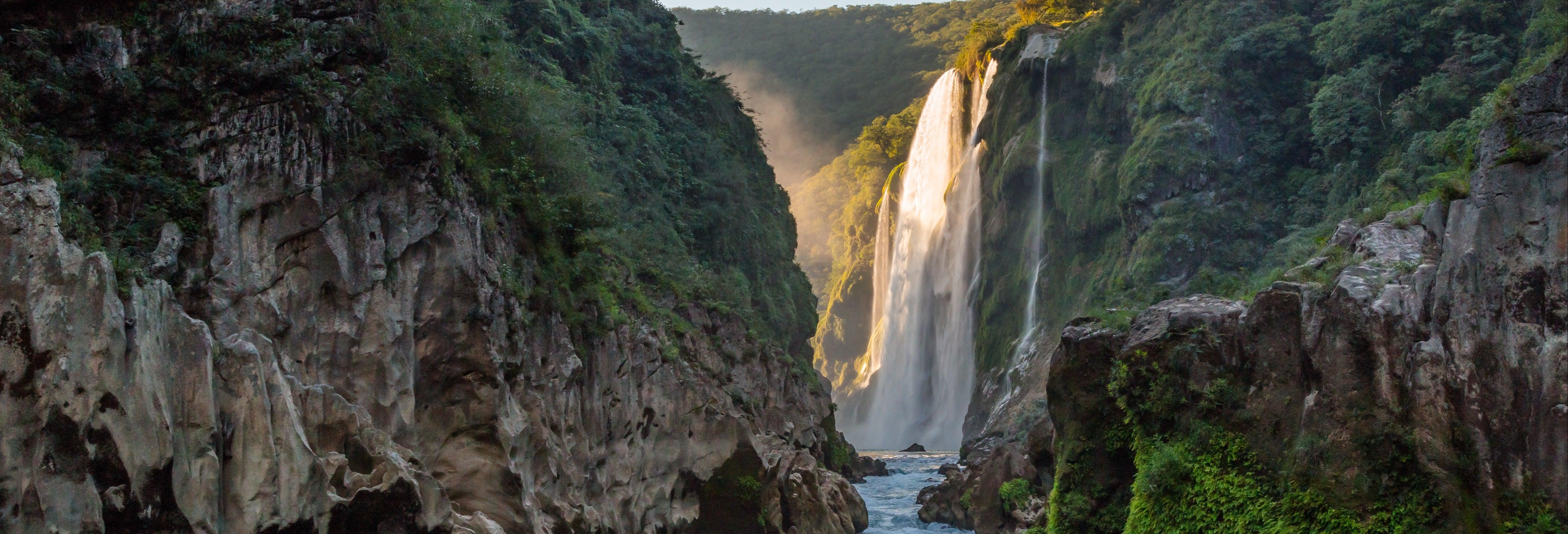 Rappel y salto en las Cascadas de la Huasteca