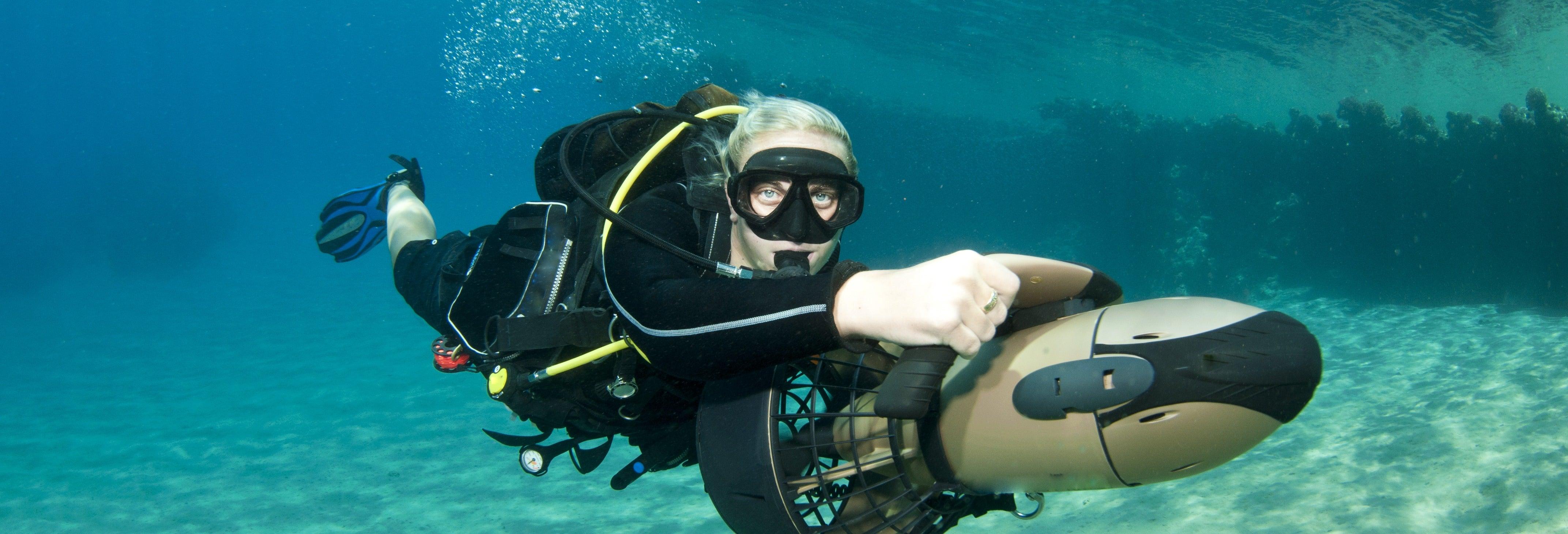 Power Snorkel in Cozumel