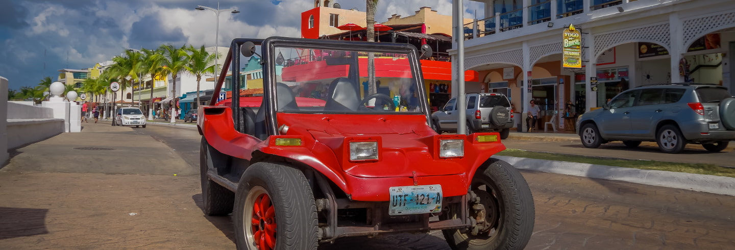 Private Cozumel Jeep Tour with Snorkelling