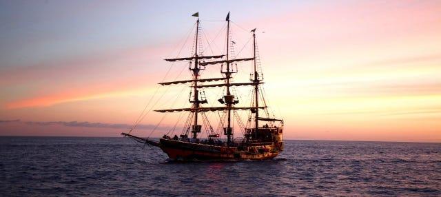 Fiesta en barco pirata por Los Cabos