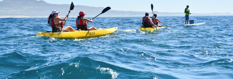 Kayak et snorkeling à Los Cabos