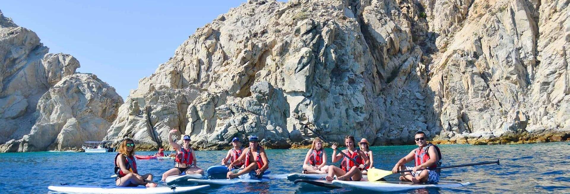 Snorkel y paddle surf en Los Cabos