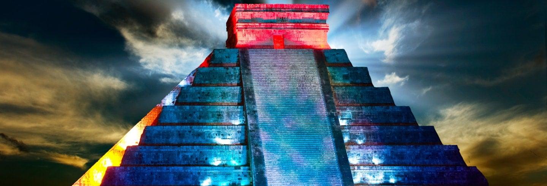 Cena buffet y espectáculo nocturno en Chichén Itzá