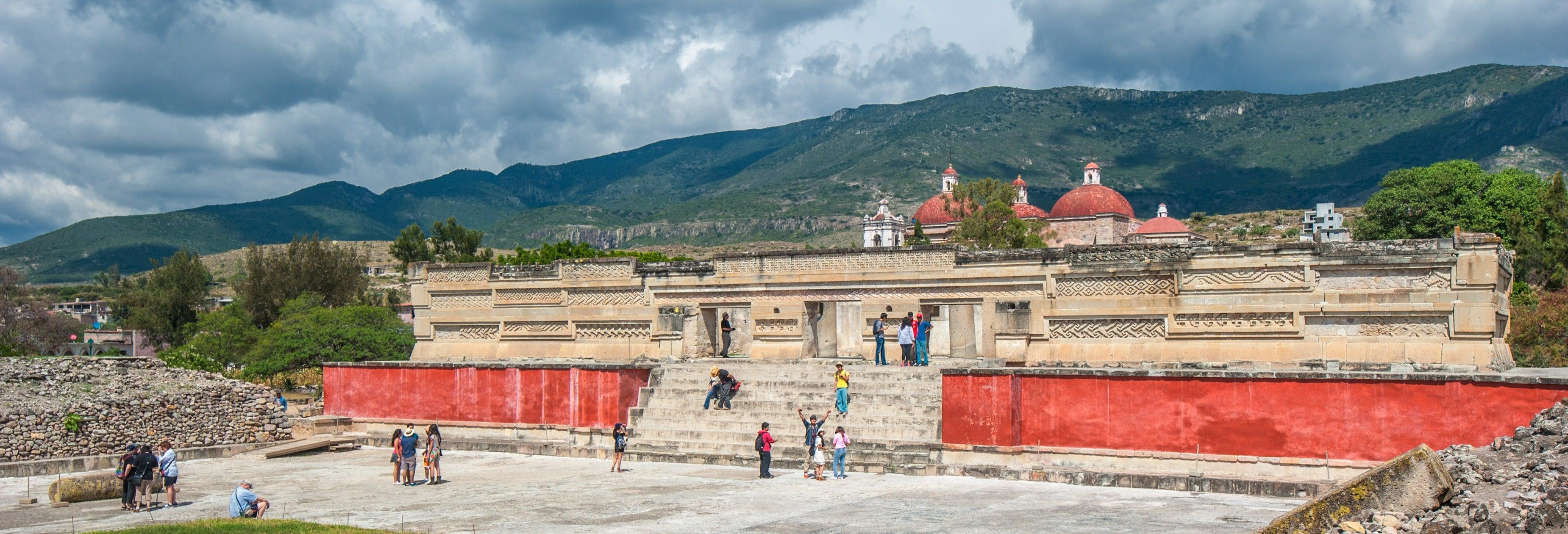 Excursion to Teotitlán del Valle, Mitla and Hierve el Agua