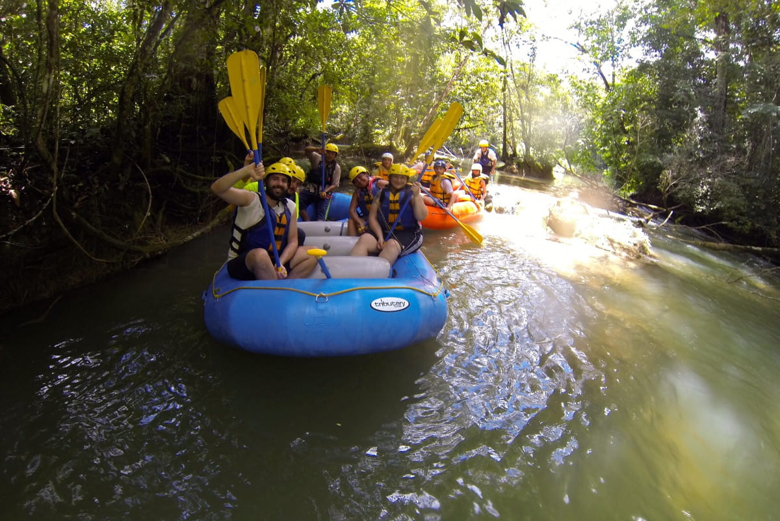 Rafting Lacanjá river.