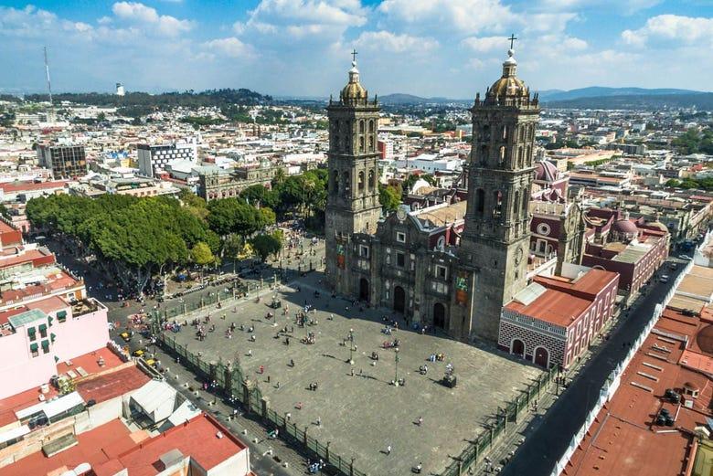 Free tour dans Puebla. C'est gratuit !