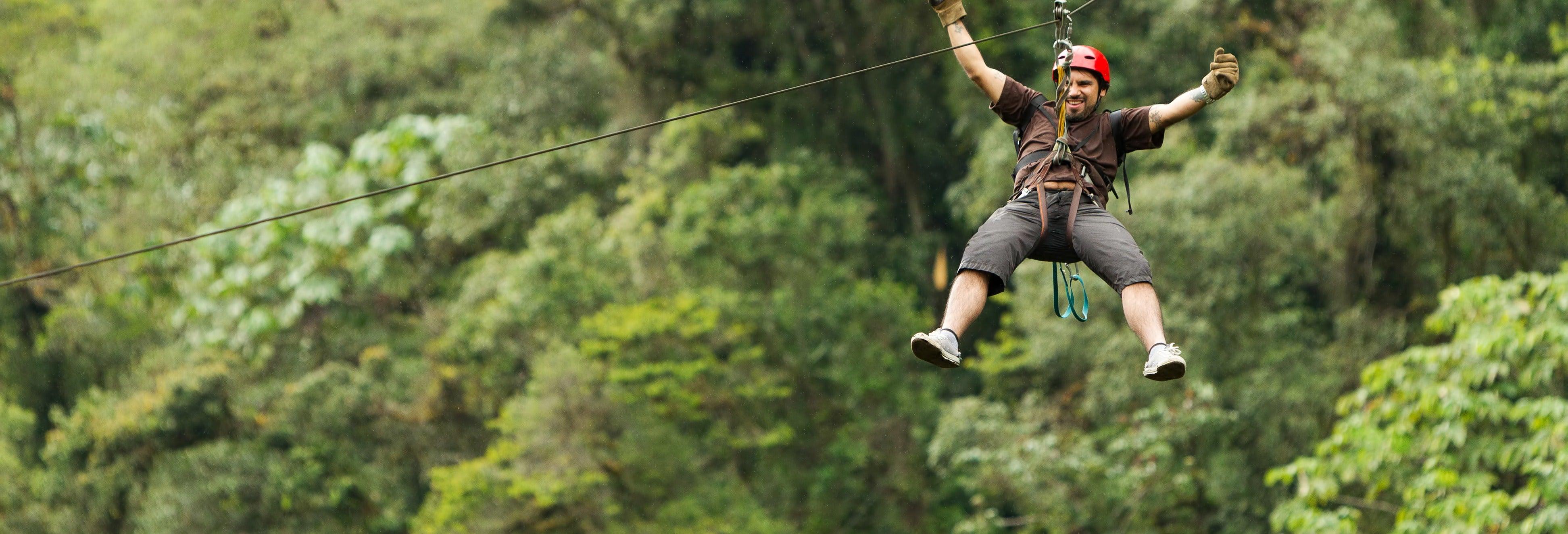 Tour de aventura por la selva de Vallarta
