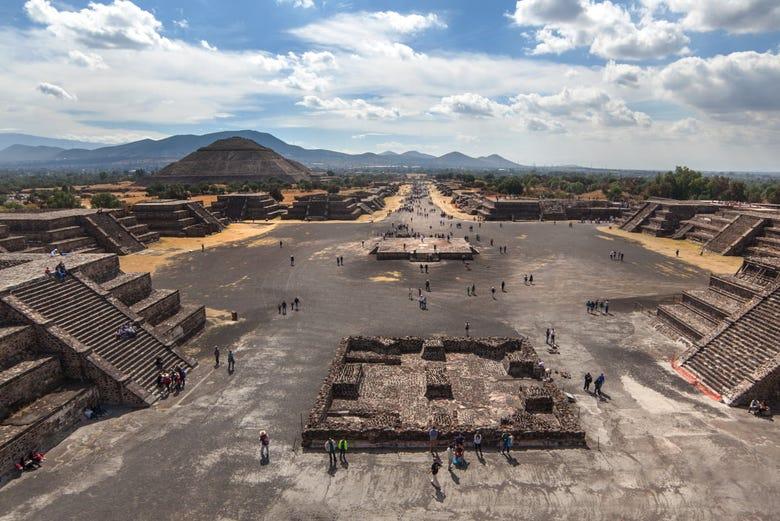 Visite privée de Teotihuacán