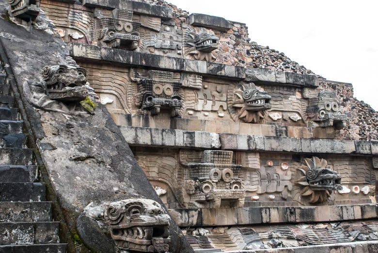 Visite guidée de Teotihuacan