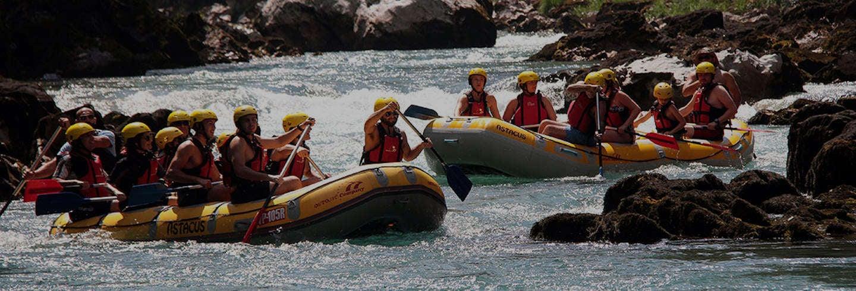 Rafting en el río Tara