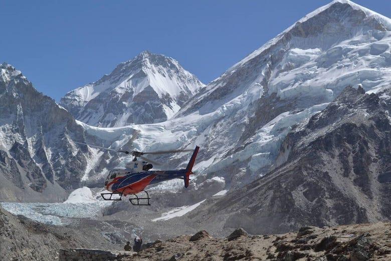,Excursión a Campo Base Everest
