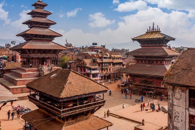 ,Excursión a Bhaktapur