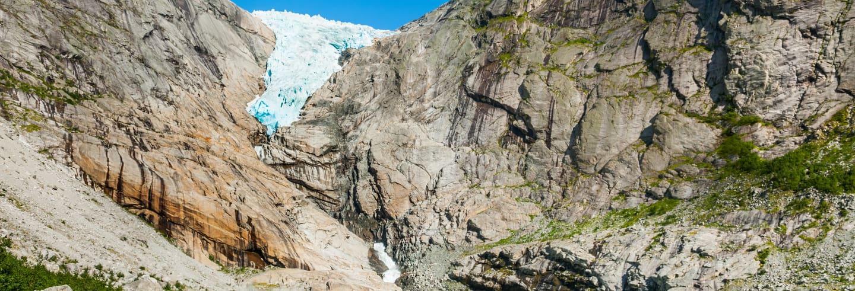 Excursión al glaciar Briksdal para cruceros
