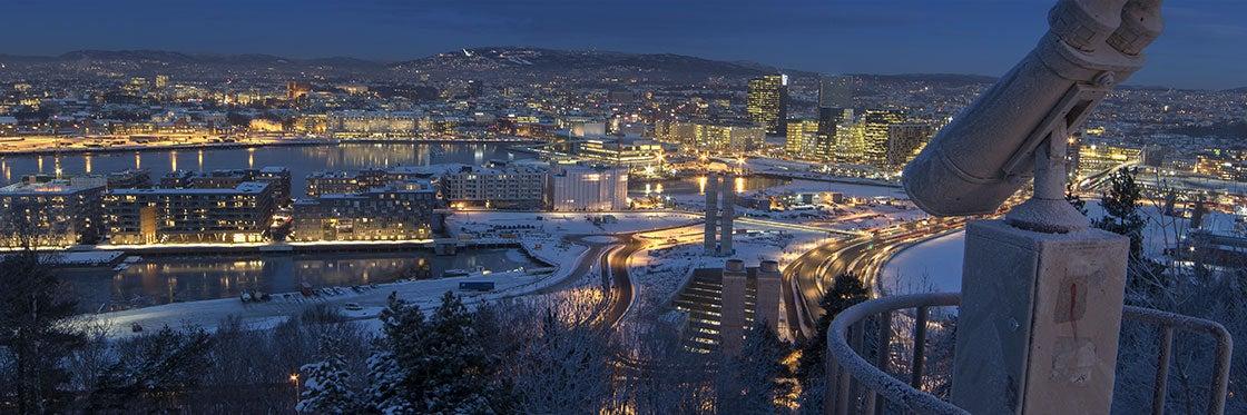 El tiempo en Oslo