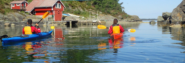 Tour en kayak por Kalvoy