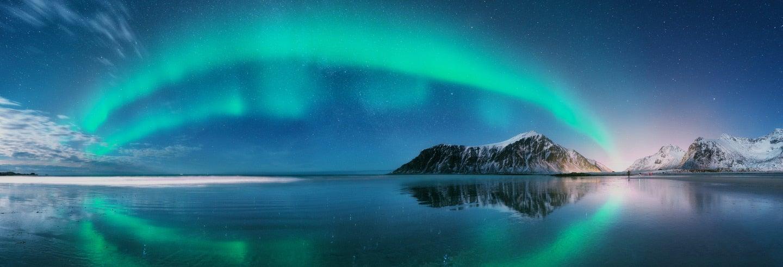 Crucero de 2 días de la aurora boreal con avistamiento de ballenas