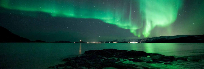 Crucero de la aurora boreal con cena