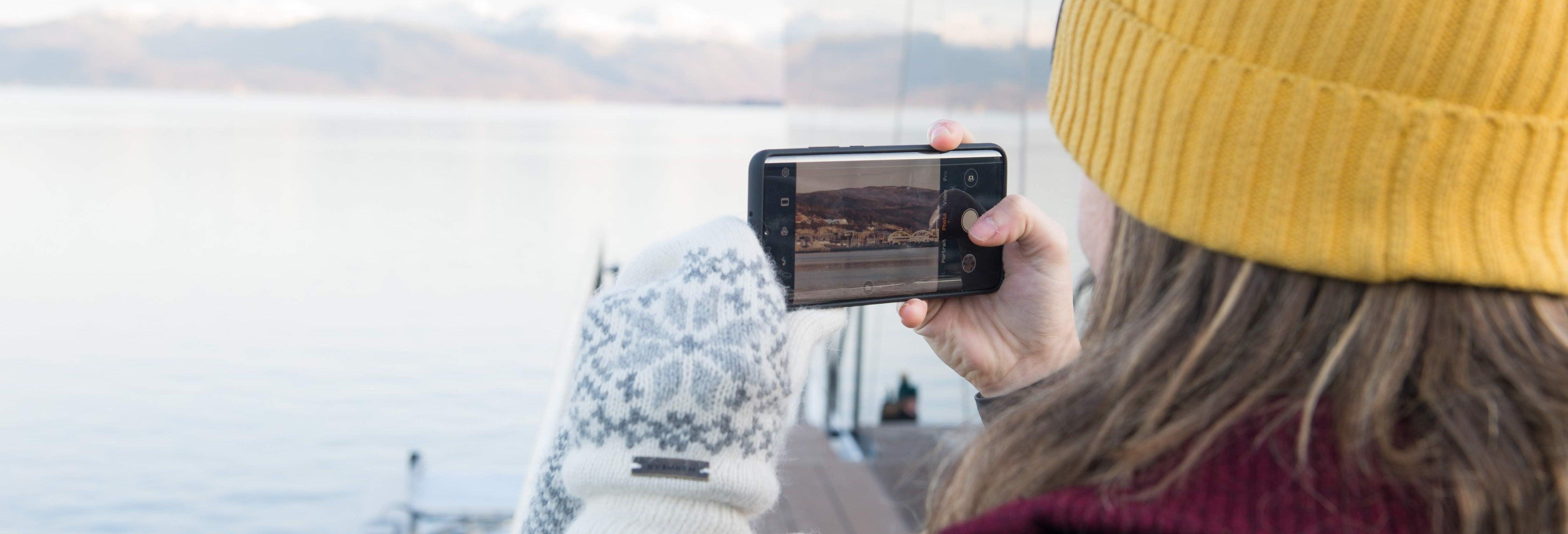 Crucero por los fiordos árticos