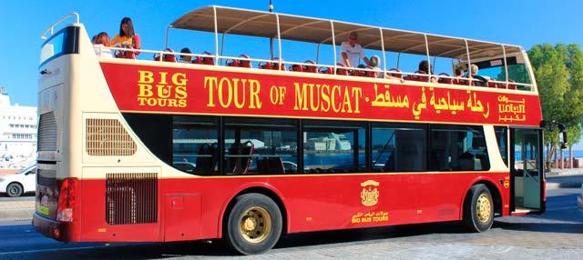 Autobús turístico de Mascate