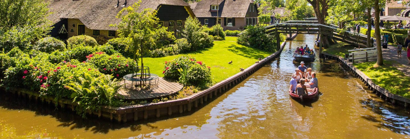 Excursion à Giethoorn