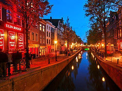 ,Barrio rojo,Red Light District,Tour por Ámsterdam,Tour a pie