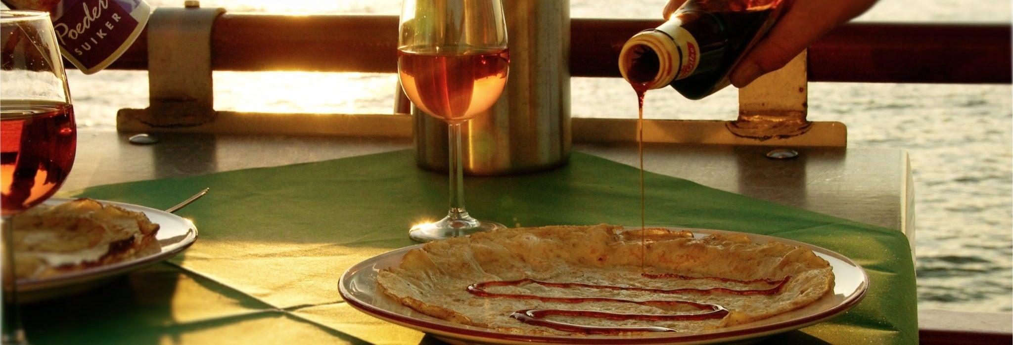 Croisière-dégustation de pancakes à Amsterdam