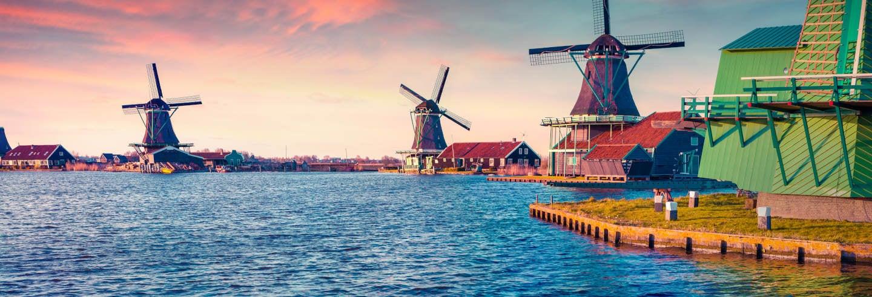 Passeio de barco por Zaanse Schans
