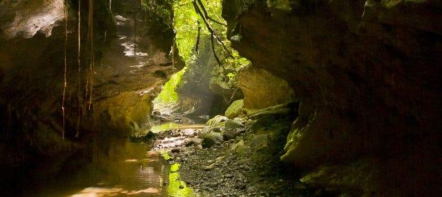 Aventura en las cuevas de Bayano
