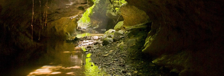 Aventura nas Cuevas de Bayano
