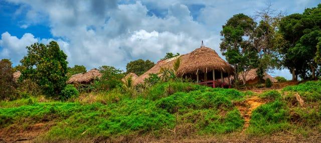 Excursión a una aldea indígena emberá