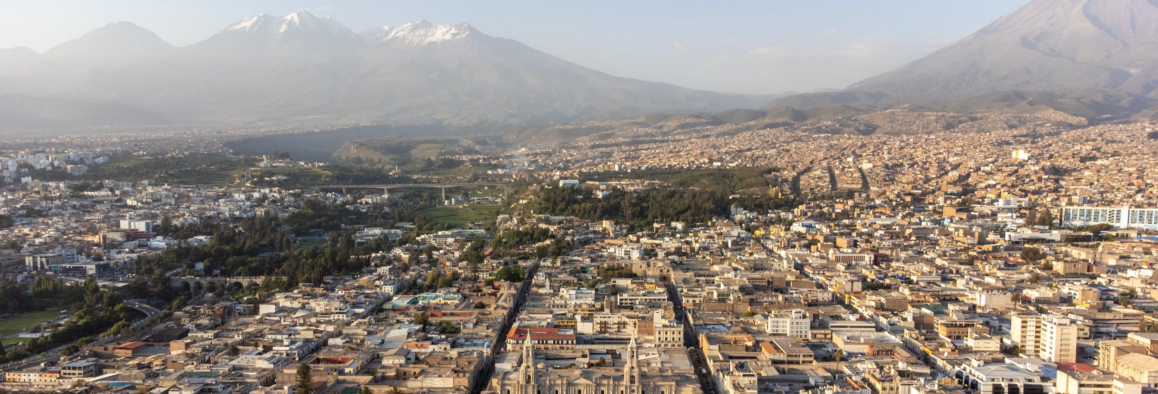 Tour panoramico di Arequipa