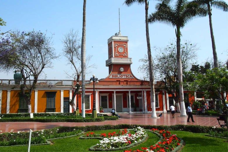 Free tour dans Barranco. C'est gratuit !