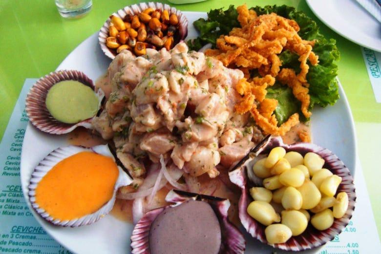 Visite gastronomique dans Miraflores et Surquillo