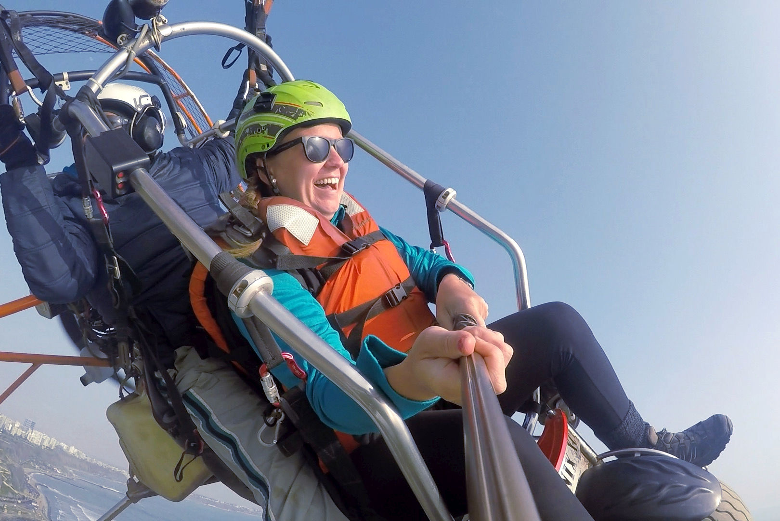 Vol en paramoteur sur la Costa Verde